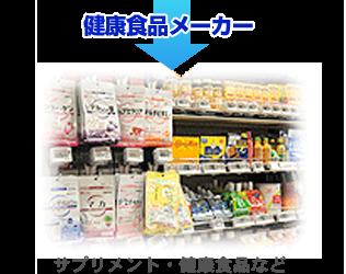 健康食品メーカー
