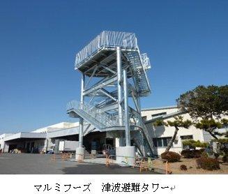 マルミフーズ避難タワー